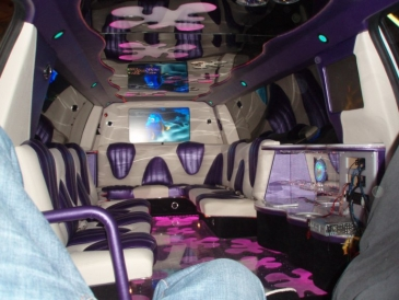 Pink Expedition Limousine